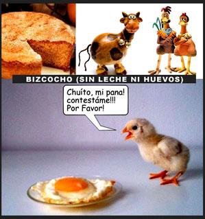 Bizcocho vegano (sin leche ni huevo)