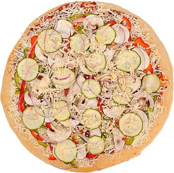 pizza de pepinos